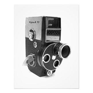 Cooler Vintager Kamera-Druck/Plakat! Fotodruck