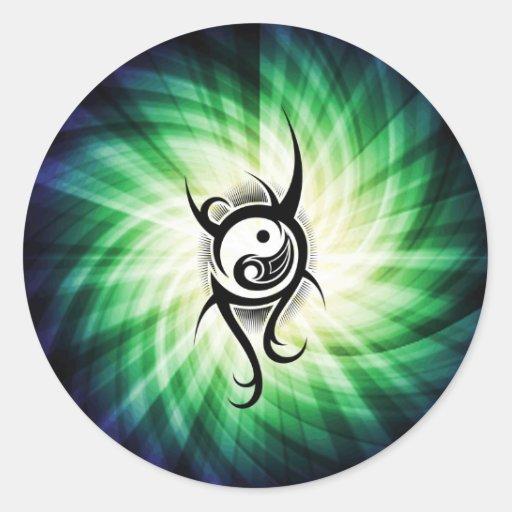 Cooler Yin Yang Stickers