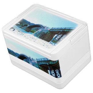 Cooleres Teil 1 Kasten blauen Kintaikyo Fotos Kühlbox