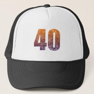 Cooles 40. Geburtstags-Geschenk Truckerkappe