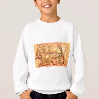 Cooles abstraktes buntes sweatshirt