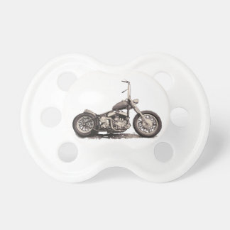 Cooles altes Motorrad Schnuller