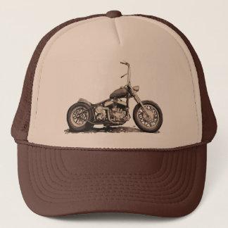 Cooles altes Motorrad Truckerkappe