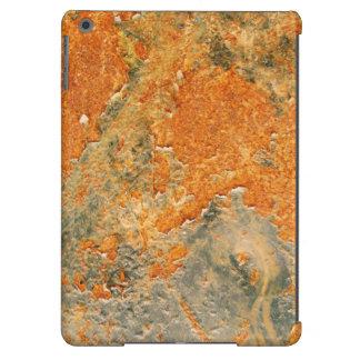 Cooles altes verrostetes Eisen-Metall iPad Air Hülle