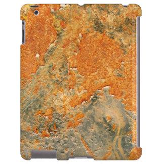 Cooles altes verrostetes Eisen-Metall iPad Hülle