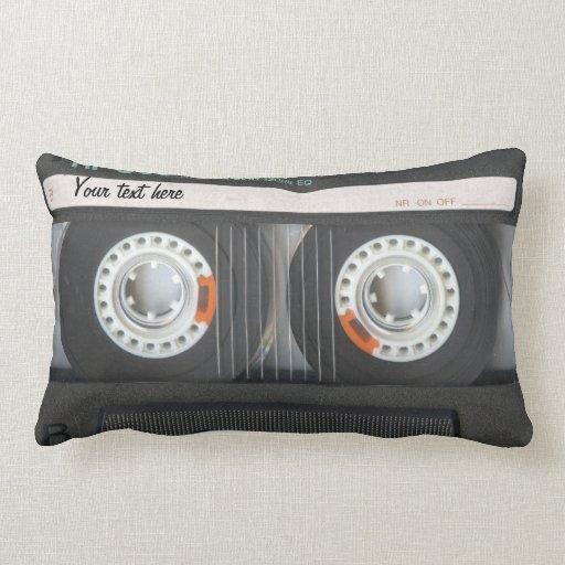 Cooles Audiokassette Kissen