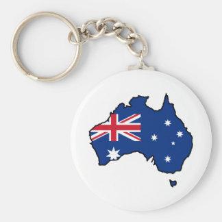 Cooles Australien Schlüsselanhänger