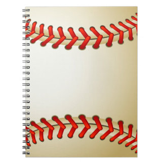 Cooles Baseball-Notizbuch Notizblock