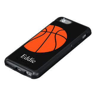 Cooles Basketball-Thema OtterBox iPhone 6/6s Hülle