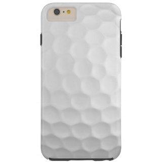 Cooles Bild des weißen Golf-Balls bildet Muster Tough iPhone 6 Plus Hülle