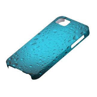 Cooles blaues Wasser lässt iPhone 5 Fall fallen Etui Fürs iPhone 5