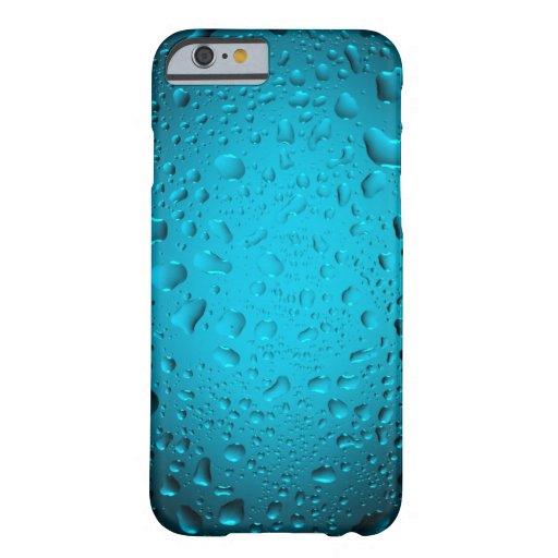 Cooles blaues Wasser lässt iPhone 6 Fall fallen Barely There iPhone 6 Hülle