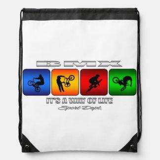Cooles BMX ist es eine Lebensart Turnbeutel