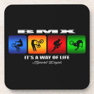 Cooles BMX ist es eine Lebensart Untersetzer