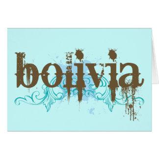 Cooles Bolivien Karte