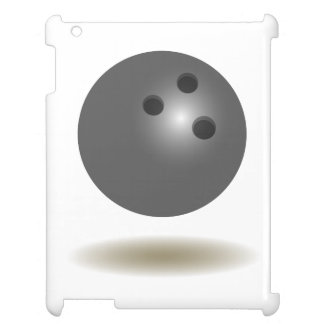 Cooles Bowlings-Emblem iPad Hülle