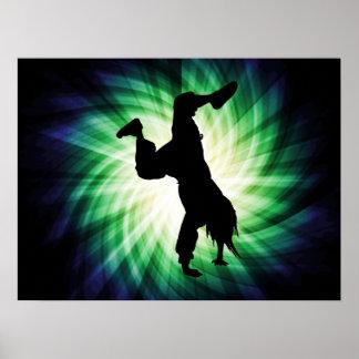 Cooles Breakdancer Posterdrucke