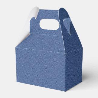 Cooles Denim-blaue Jeans Geschenkschachtel