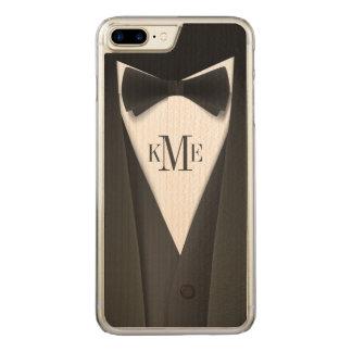 Cooles der Tuxedo-Anzugs-Muster der Männer - Carved iPhone 8 Plus/7 Plus Hülle