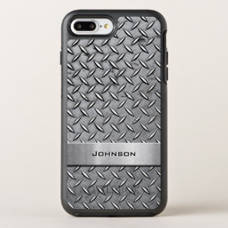Cooles Diamant-Schnitt-Silber-metallischer OtterBox Symmetry iPhone 8 Plus/7 Plus Hülle
