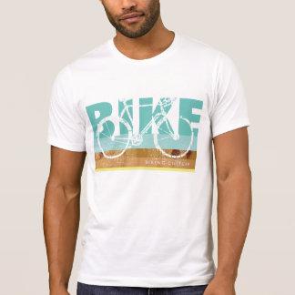 cooles Fahrrad-T-StückBriefmarke… Radfahren T-Shirt