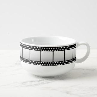 Cooles Filmnachtumhüllungsschüssel-Filmmuster Große Suppentasse