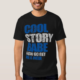 Cooles Geschichten-Baby. Jetzt erhalte gehe mir Shirts