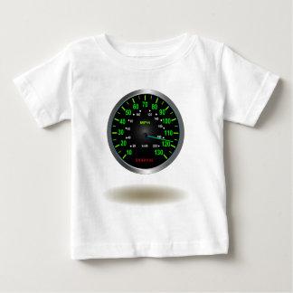 Cooles Geschwindigkeitsmesser-Emblem Baby T-shirt