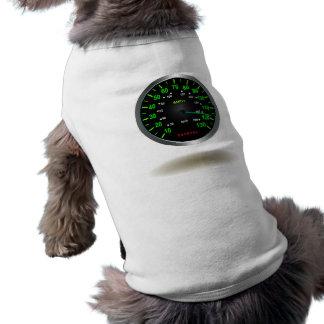 Cooles Geschwindigkeitsmesser-Emblem Shirt