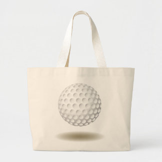 Cooles Golf-Emblem Jumbo Stoffbeutel