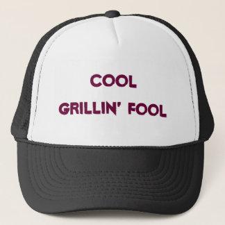 Cooles Grillin' Dummkopf-Baseballmütze Truckerkappe