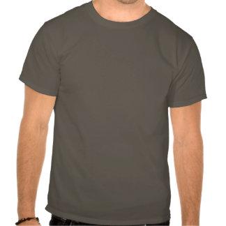 cooles grünes grungy Wissenschaft Geekt-stück Hemden