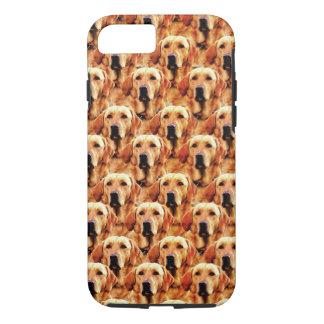Cooles Hundekunst-Hündchen-goldener Retriever iPhone 8/7 Hülle