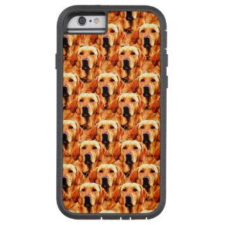 Cooles Hundekunst-Hündchen-goldener Retriever Tough Xtreme iPhone 6 Hülle