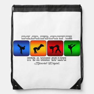 Cooles Karate ist es eine Lebensart Turnbeutel