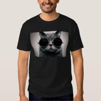 cooles Katze kool kat mit Schatten Hemden
