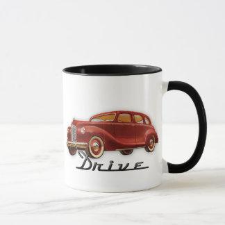 Cooles klassisches Auto-Fahrer-Retro Auto Tasse