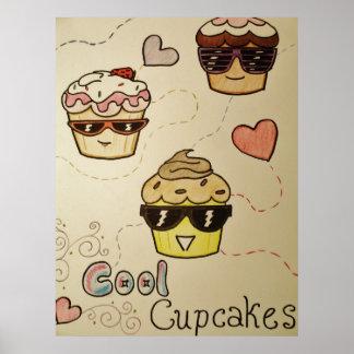 Cooles Kuchen-Plakat