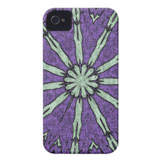 Cooles künstlerisches Lavendel-Minzemandala-Muster iPhone 4 Hülle