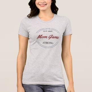 Cooles Mamma-Spiel-starker T - Shirt