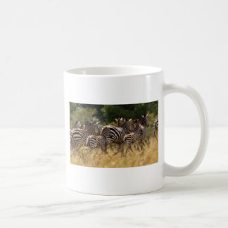 Cooles Material des afrikanischen Zebra Kaffeetasse