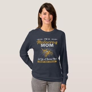 Cooles Motocross-Mamma-Geschenk-Shirt T-Shirt