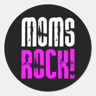 Cooles Mutter-Tagesgeburtstags-Weihnachten: Mamma- Runde Sticker