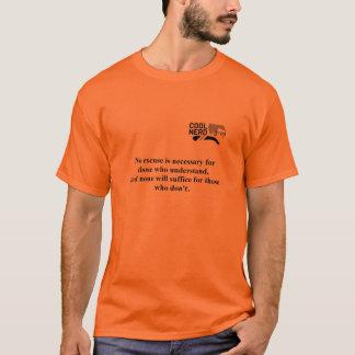 Cooles Nerd-T-Stück - Entschuldigungen T-Shirt