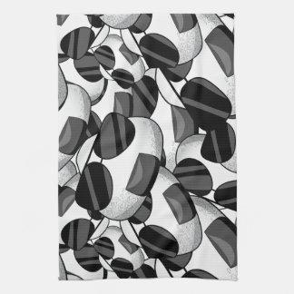 Cooles onigiri Muster Handtuch