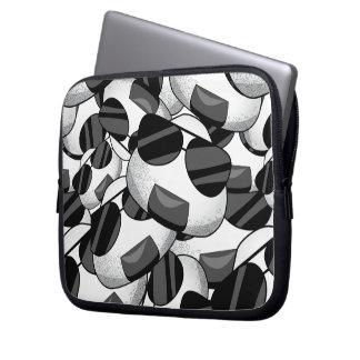 Cooles onigiri Muster Laptopschutzhülle