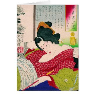 Cooles orientalisches japanisches karte
