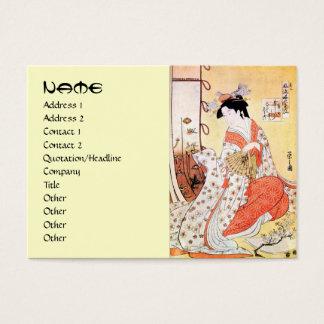 Cooles orientalisches japanisches klassisches Jumbo-Visitenkarten