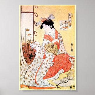 Cooles orientalisches japanisches klassisches poster