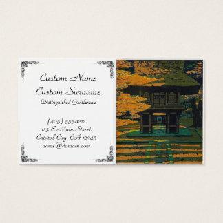 Cooles orientalisches japanisches visitenkarten